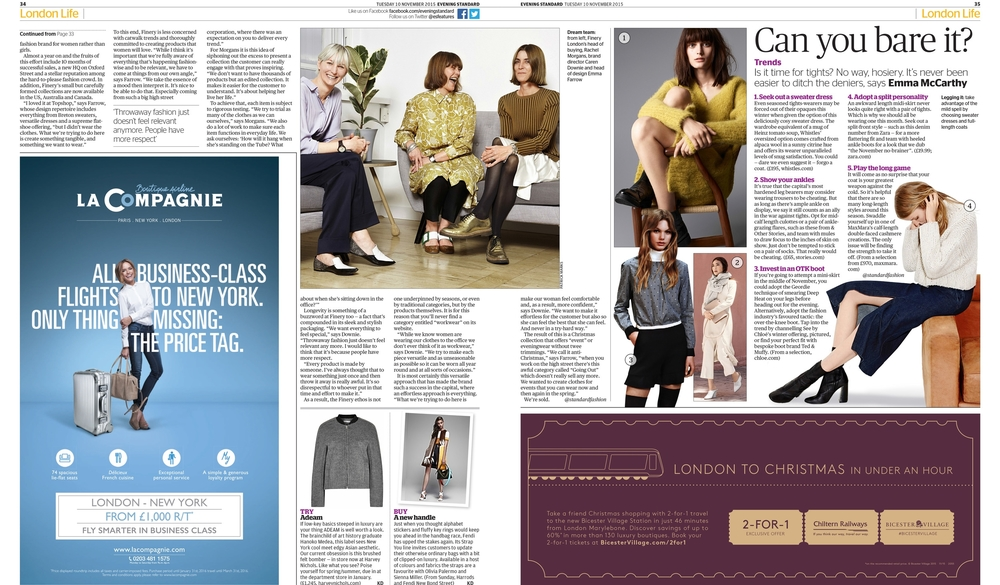Evening Standard - The Finery