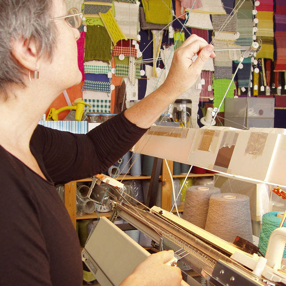 Susan Holton in her studio