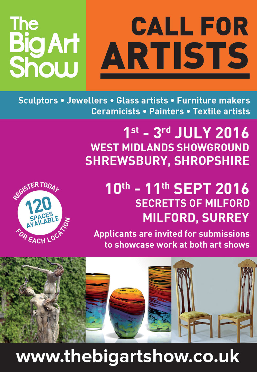Surrey Guild of Craftsmen at The Big Art Show
