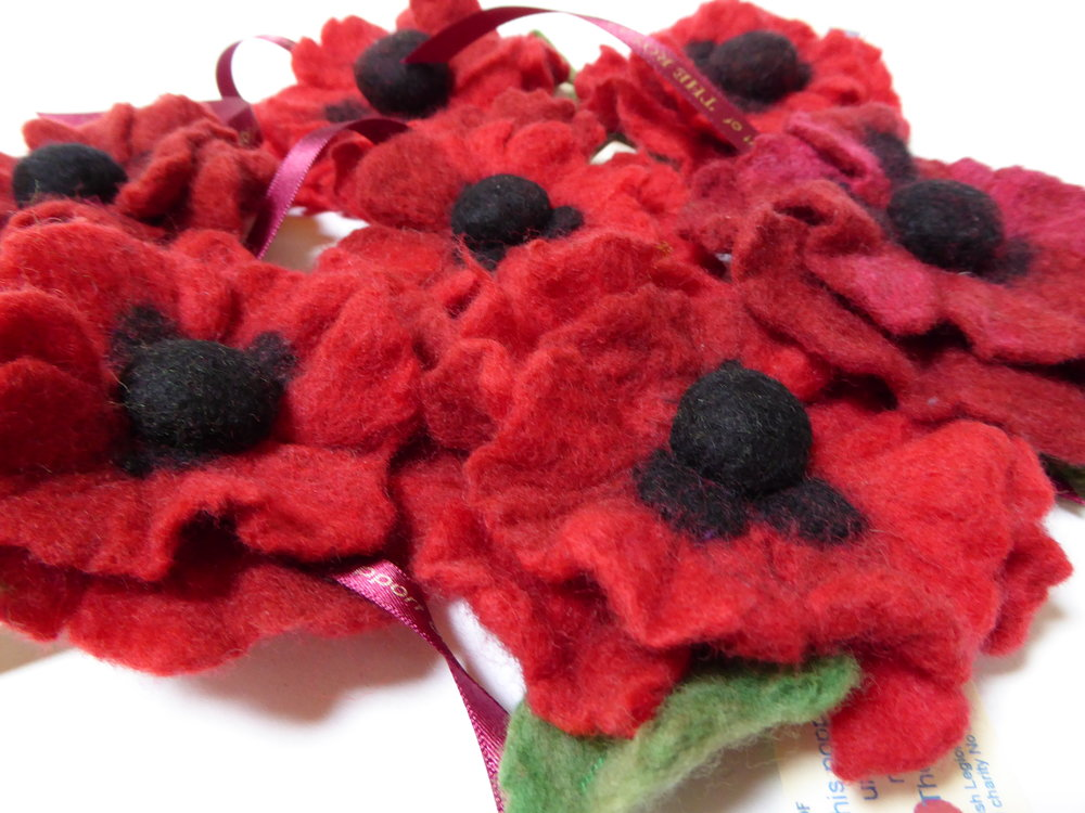 RBL poppies from Nancy Shafee