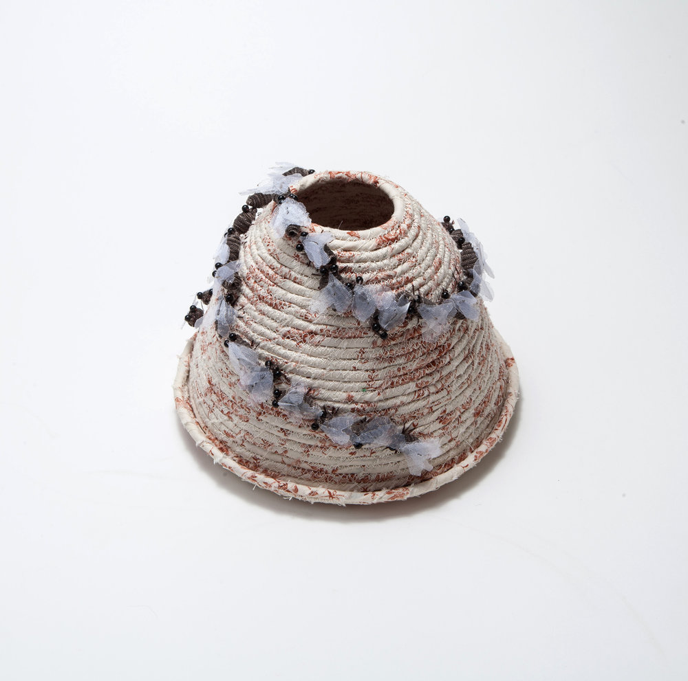 Nancy Shafee coiled basketware