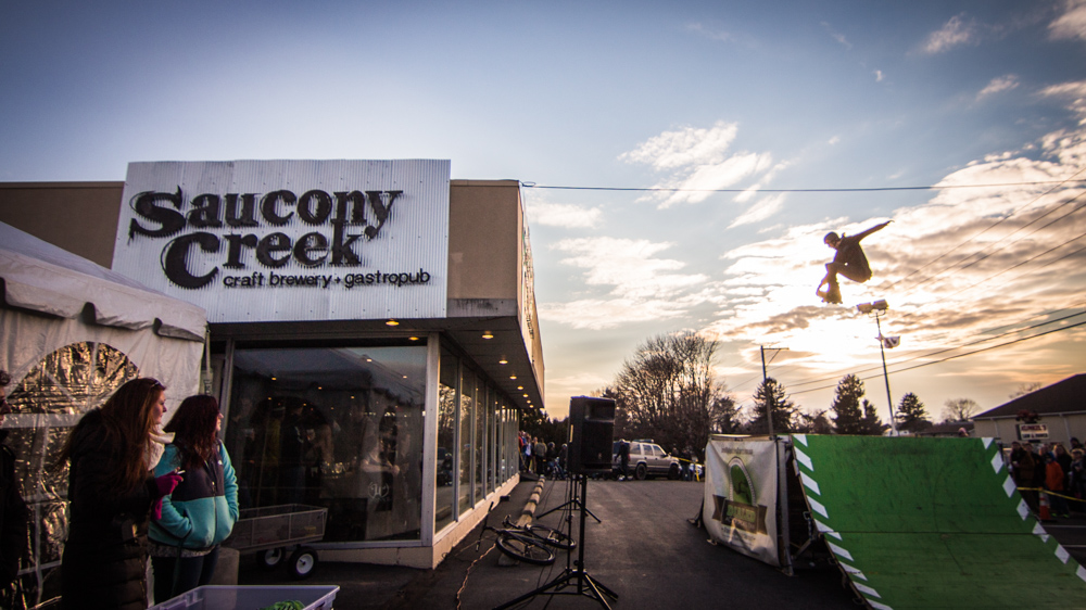 More from Saucony Creek Brewery's Grand Opening