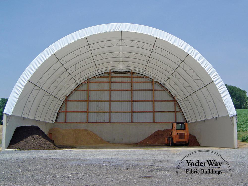 Fabric Building For Bulk Storage