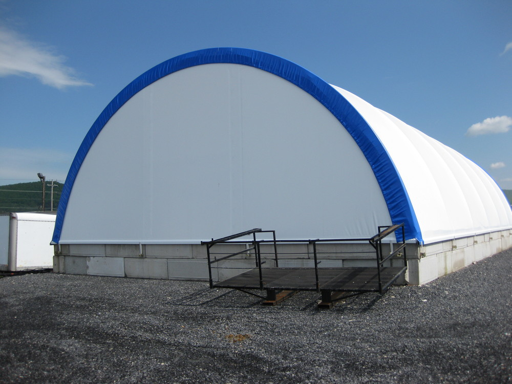 Fabric Panels To Cover Storage Area : Fabric shelter systems temporary storage structures