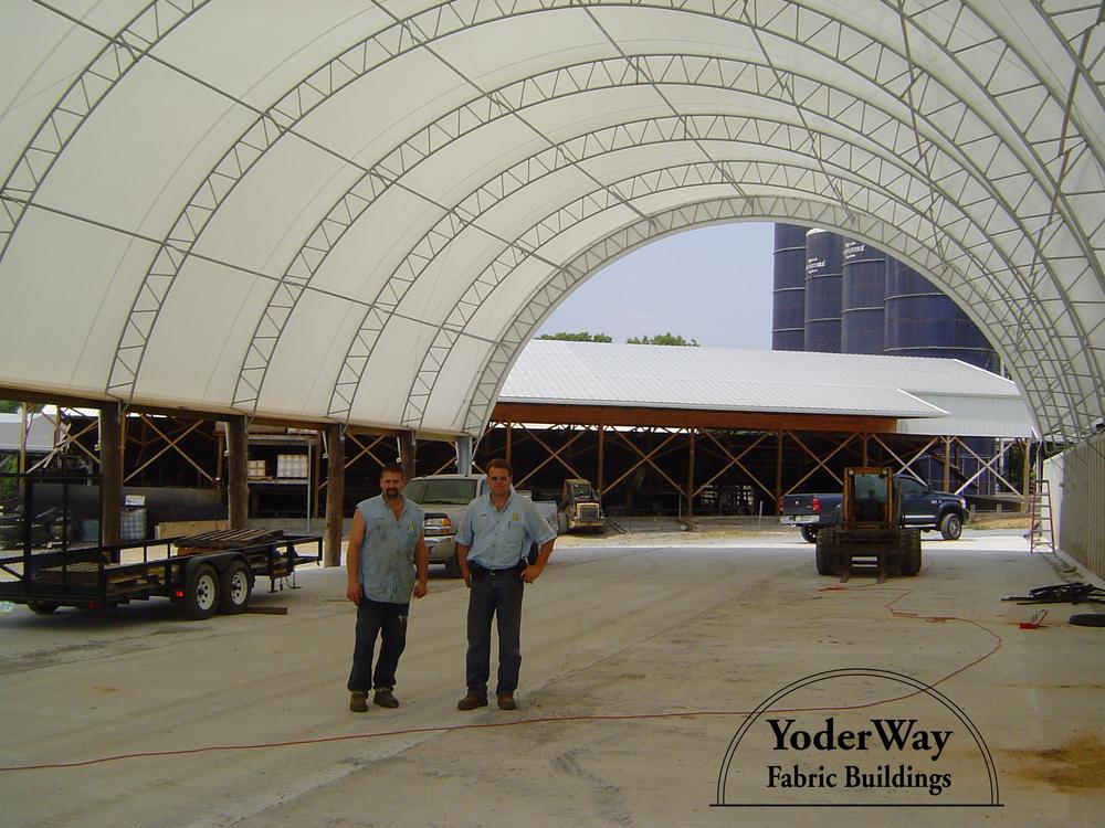 Farm fabric building