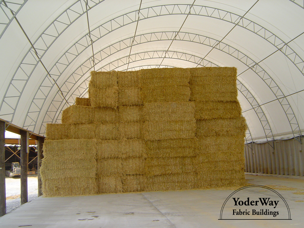 Agricultural hay and stray storage