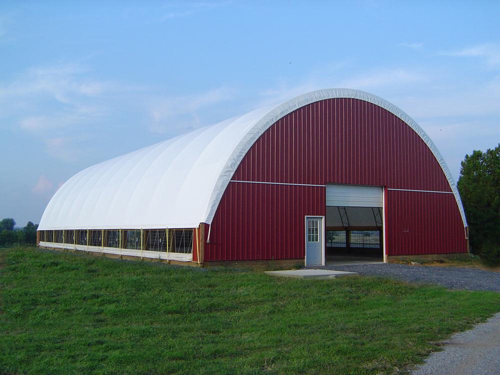 Animal hoop barn