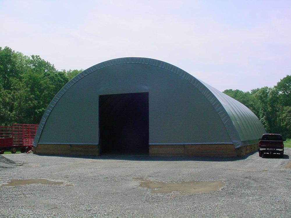 Equipment fabric barn