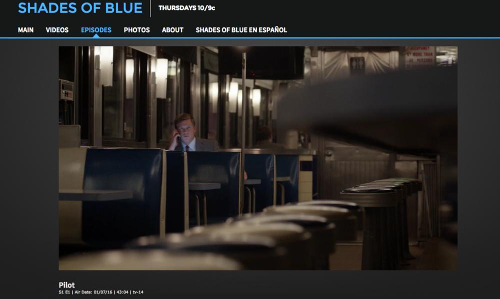 Shades of Blue, NBC 2016.
