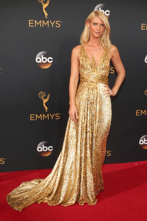 Claire Danes in a Schiaparelli dress and Forevermark diamonds