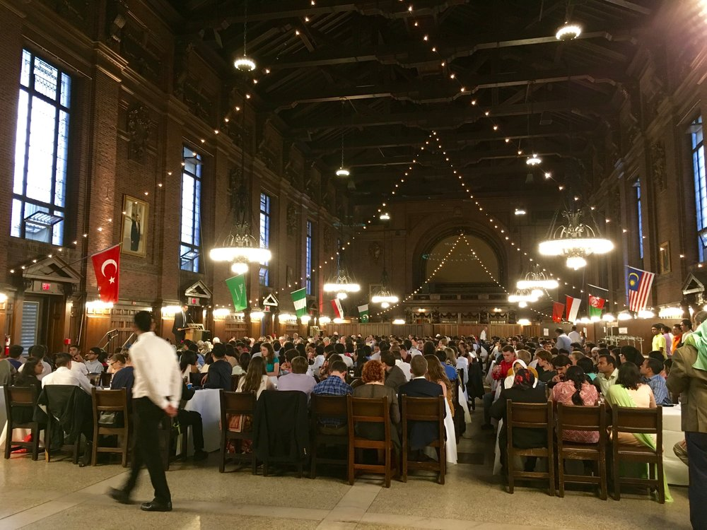 Hundreds gathered in Commons on September 20th for the annual Eid Banquet.
