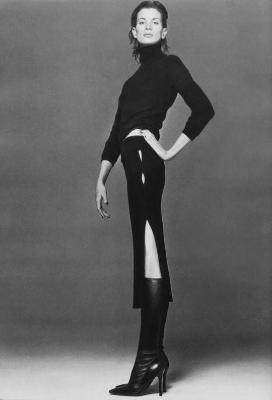 1997 Autumn/Winter Versace Collection - Kristen McMenamy