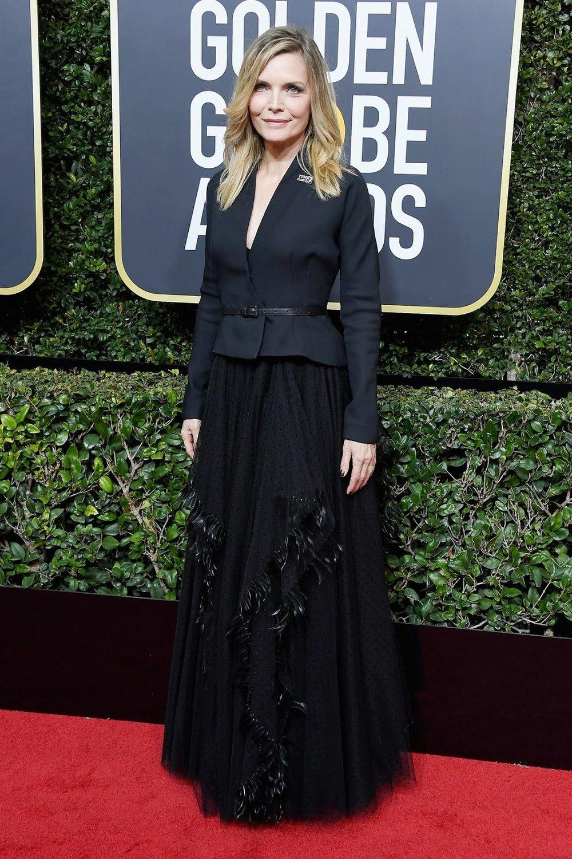 Michelle Pfeiffer in Christian Dior Couture