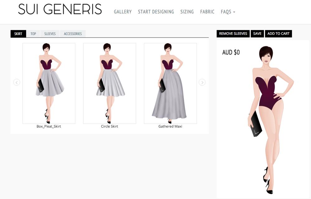 Sui-Generis Design Page