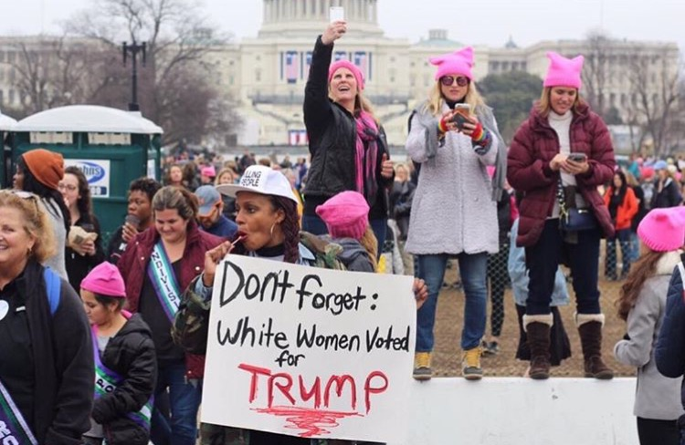 via @alldemshades from the March in Washington. (not my photo)