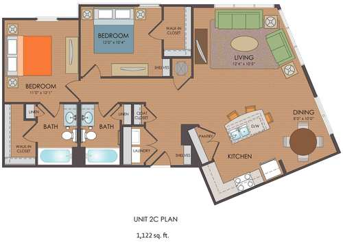 2 Bedroom Floor Plans With Loft Farmersagentartruizcom