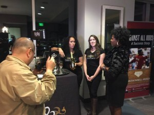 Interviewing Nicole Murphy's Brand Ambassadors During Texas Wine and Spirits Party