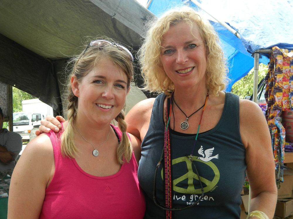 Co-Leaders of the Belize EduVenture, Joy Stephens and Kathleen Kryza