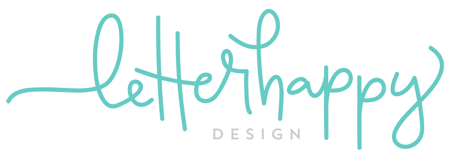 letterhappy design by christen strang