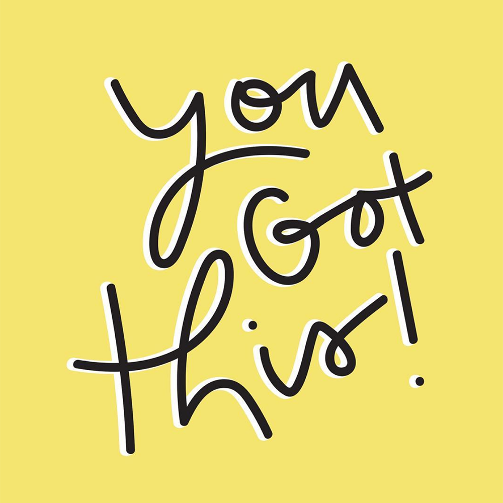 you got this printable