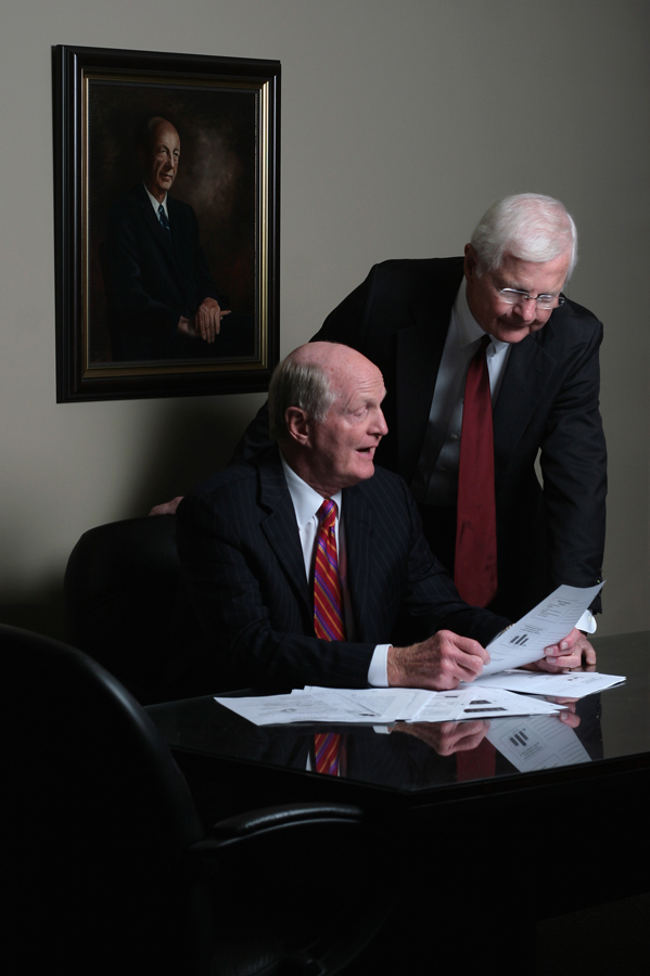 Dr. Bob Overholt, left, and his brother Dr. Gene Overholt are shown on Thursday October 9, 2008 in Knoxville, Tennessee. - (Photography by Chad Greene)