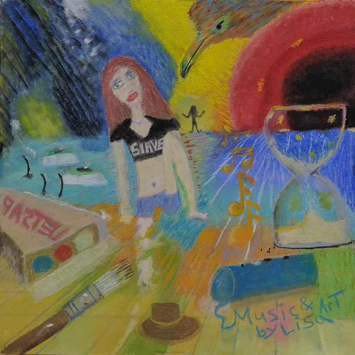 """""""Beneath the Surface."""" ( Pastel 12X12 inches) Special Collection $150. US Dollars."""