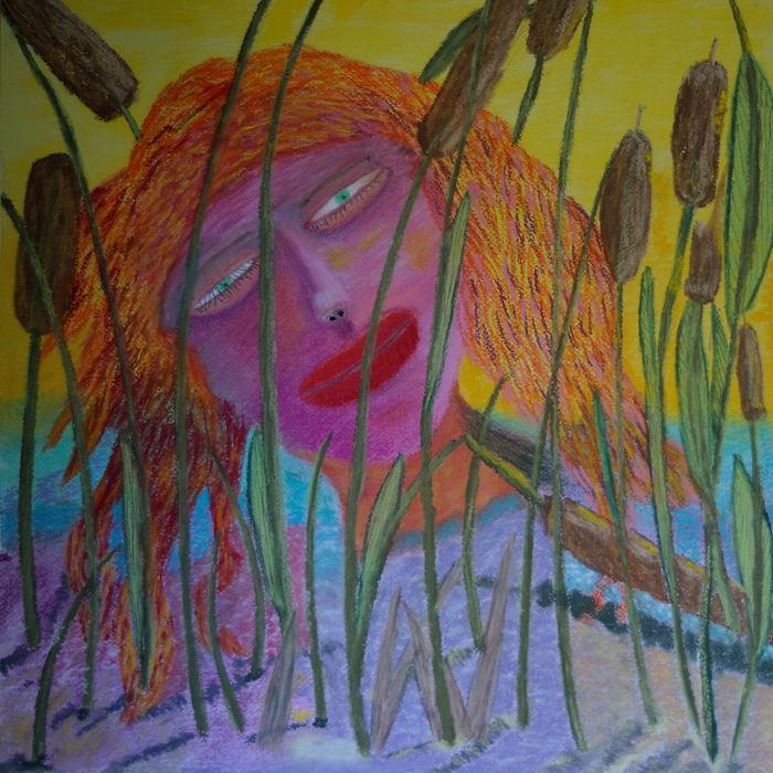 Anima Awakens ( Pastel 18X18 Inches )