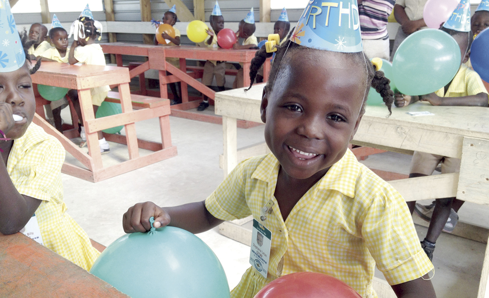Stephanie Letan represents a new generation of hope for Haiti as she surpasses the age of five with flying colors.