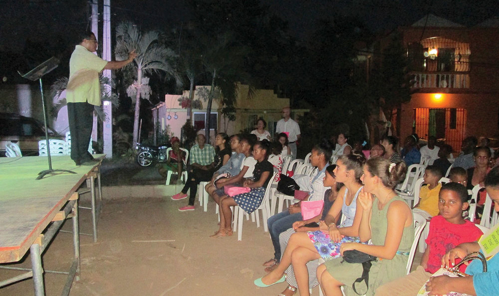 Revival and evangelistic services this summer served the community of Los Castillos with the good news of the Gospel.