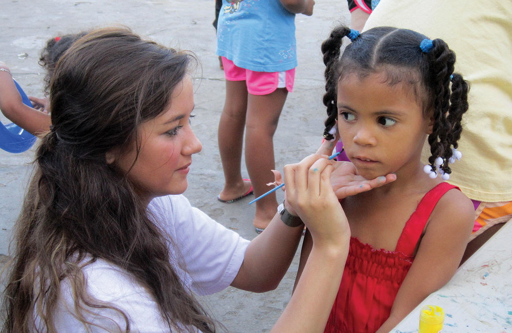 Participants on summer mission trips shared God's love with children and families in the Dominican Republic.