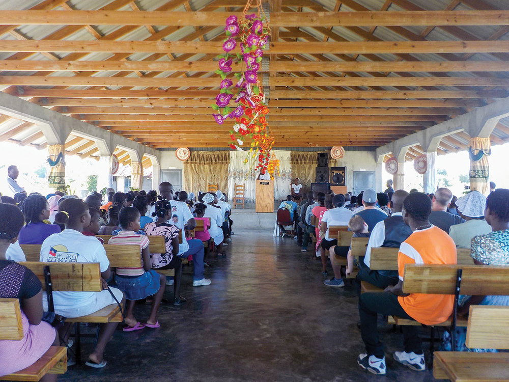 The new church we built in Concrab, Haiti, welcomed 15 of our churches for a baptism festival. The local church is at the center of all we do—because only God changes lives forever.