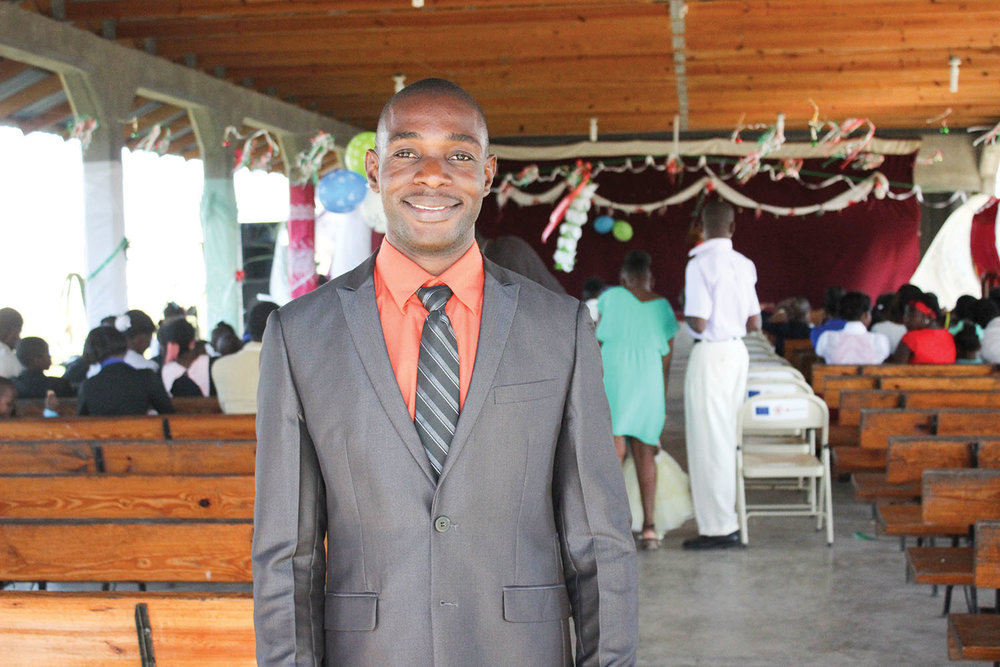 Pastor Yaguel started school at our Neply campus at the age of four, and now pastors the first church we planted in 1983.