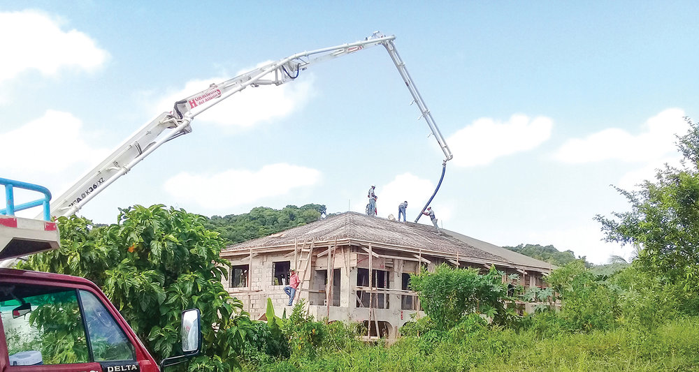 We still need your help to finish the construction of the school in Los Castillos, Dominican Republic. Thank you for your generosity.