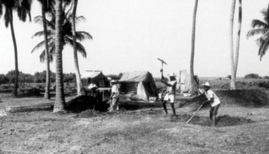 In January 1983, while living in tents, the land clearing began to pioneer New Missions in Haiti.