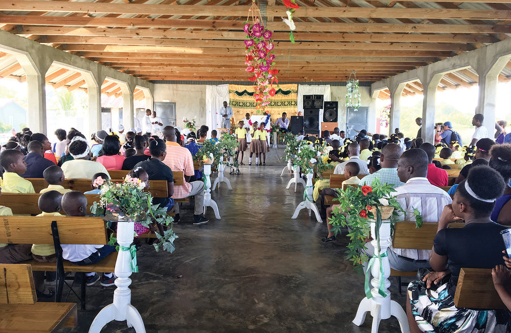 Hosted at our church in Concrab, Haiti, the baptism festival was a beautiful time of worship.