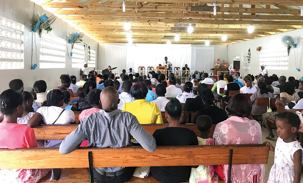 The tenth church at New Missions has been located in Leogane, Haiti, since 1989.