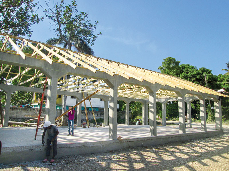 When you give, you help make it possible for us to build new churches and schools in Haiti.