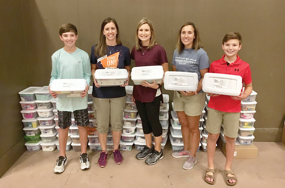 Thank you to Friendswood Baptist Church for packing shoeboxes for Haiti.