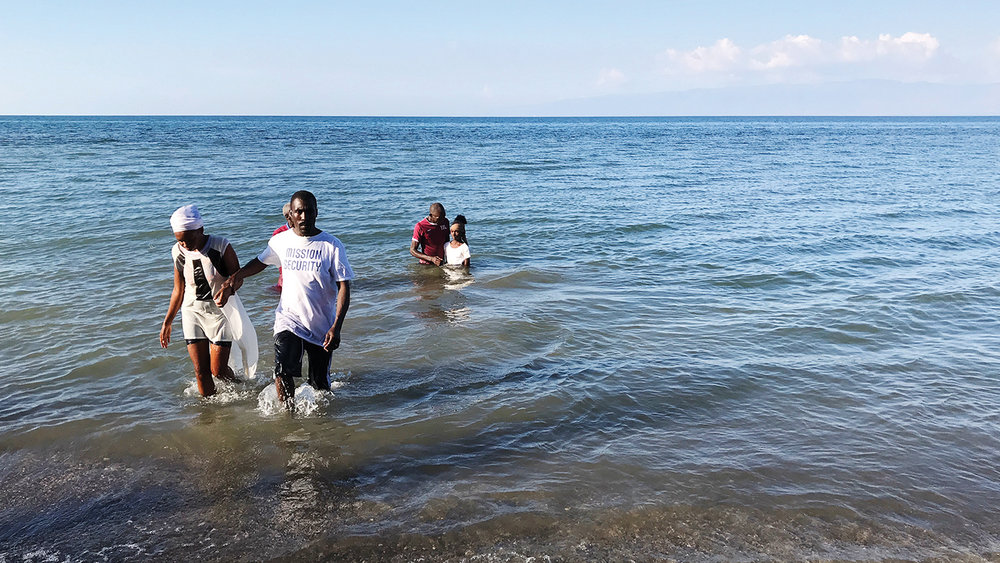 Each of our churches teach new believers to follow in water baptism.