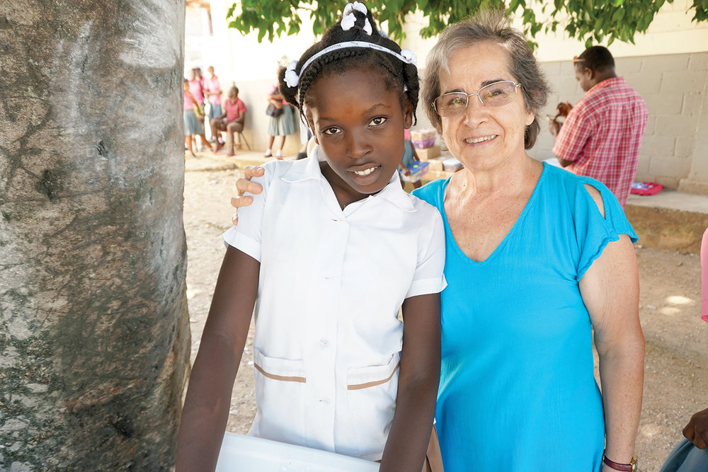 Vilangelle Siguene, a sixth-grade-student at our Mare-Chal school, made a decision to follow Jesus.