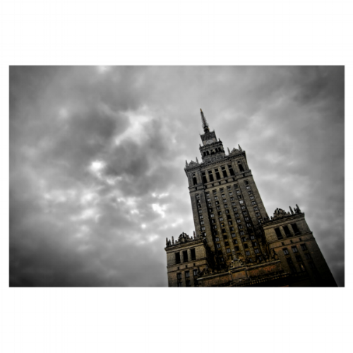 Palace of Culture, Warsaw, Poland