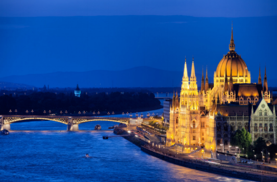 One of the world's most photogenic cities, Budapest, Hungary