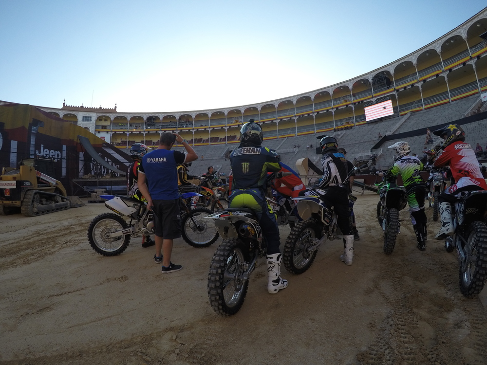 Course Testing RedBull X Fighters Madrid