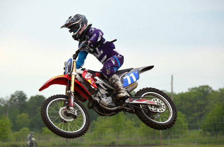 Ami is a Canadian motocrosser and one hell of a business woman!