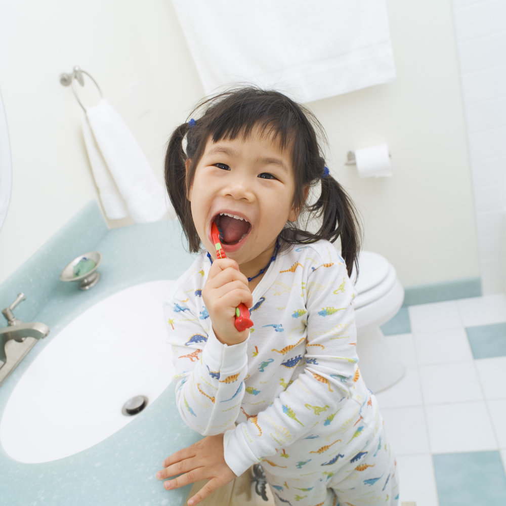 Take pictures of everyday things like your kids brushing their teeth