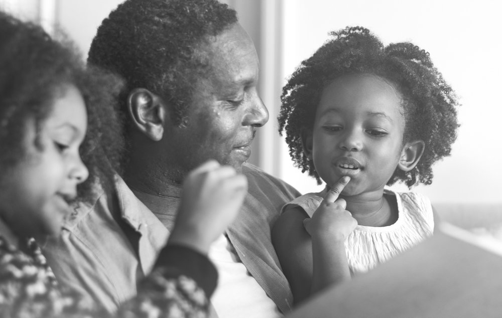 Telling family stories helps fathers and daughters connect.