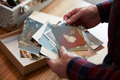 family photographs can be helpful writing tools for jogging memories that lead to family history stories