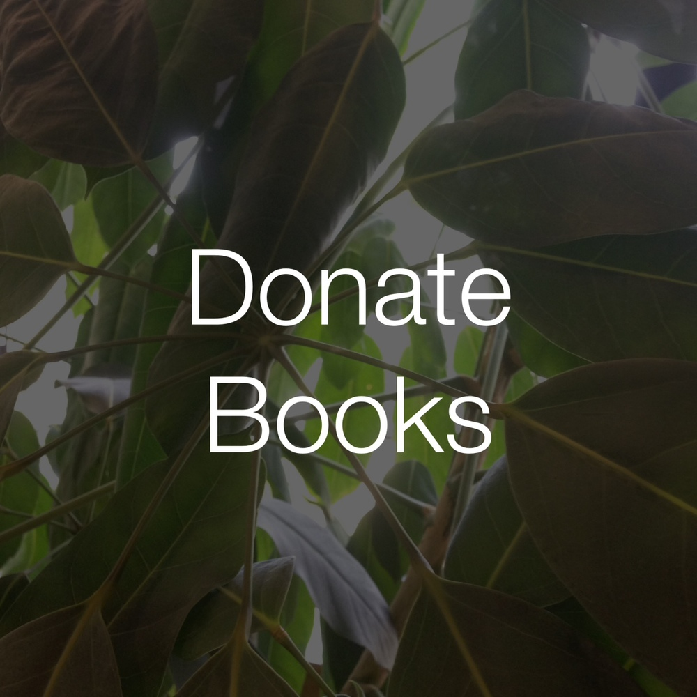 Give your books to Iliff for our collection, Iliff Student Senate book sale, and charities we support.