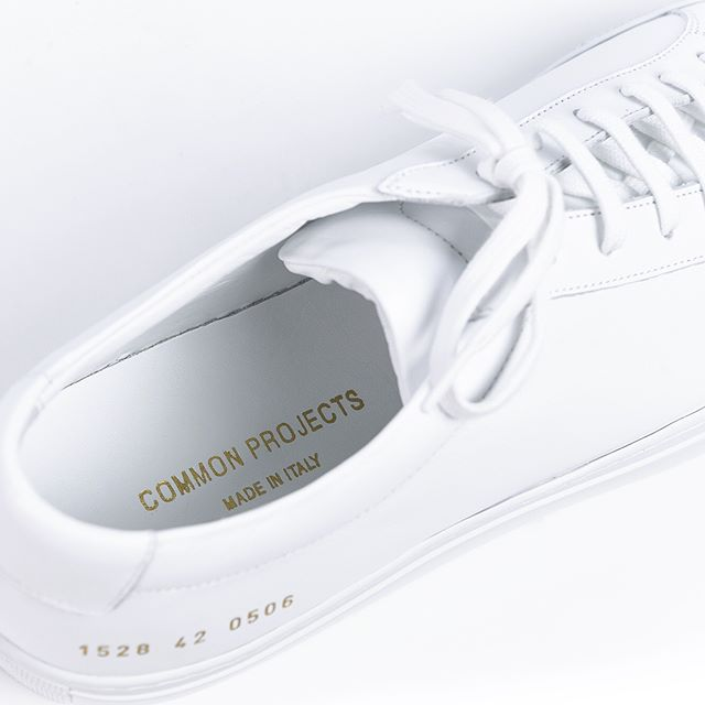 Sneaker shopping? New arrivals from Common Projects is now available online.  Link in Bio