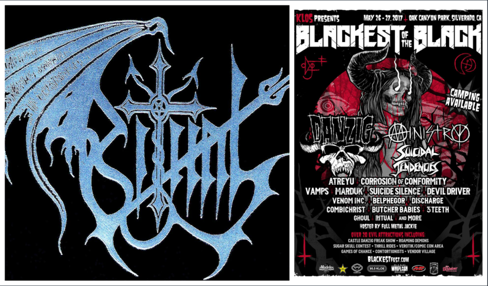 May 27, 2017 - Don't miss Day #2 of The Blackest Of The Black Festival. Come early to see me play with RITUAL and stay late for Ministry and DANZIG! More info & tix here  http://blackestfest.com  and  https://www.facebook.com/ritualblackmetal/
